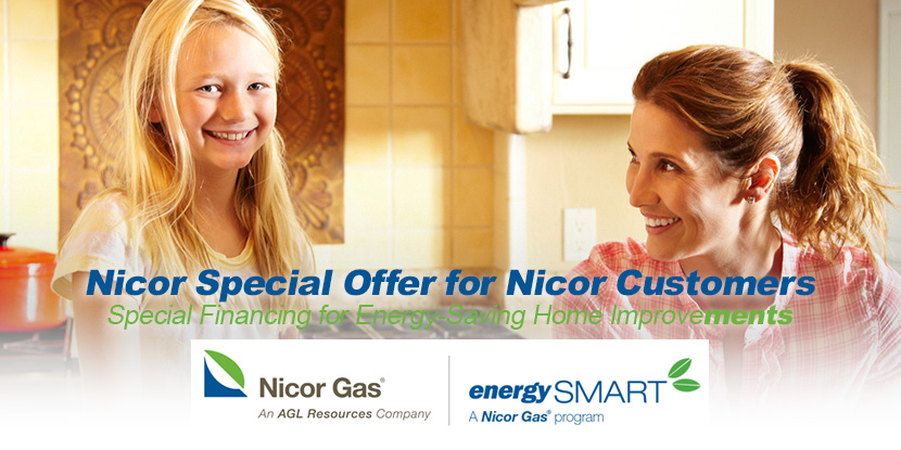 Nicor Special Offer for Nicor Customers